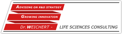Dr. WEICHERT - LIFE SCIENCES CONSULTING - Advising on R&D strategy - Growing innovation